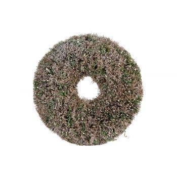 Cosy @ Home Couronne Misty  Vert D29xh6,5cm Plastic