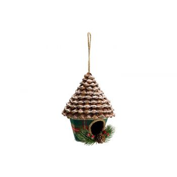 Cosy @ Home Checkers Suspension House Rouge Vert 13x