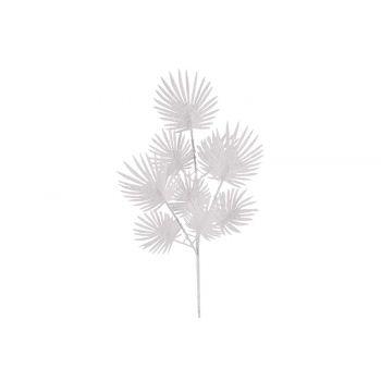 Cosy @ Home Fougere Zweige Glitter Blanc 17x1xh63cm