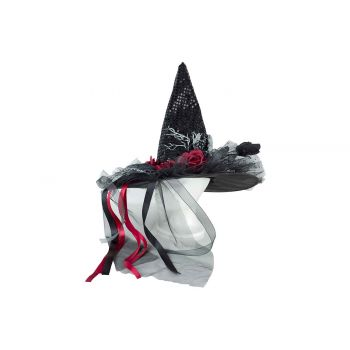 Cosy @ Home Chapeau Sorciere Noir 45x45xh85cm Textil