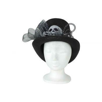 Cosy @ Home Chapeau Skulls Noir 30x25xh20cm Textile