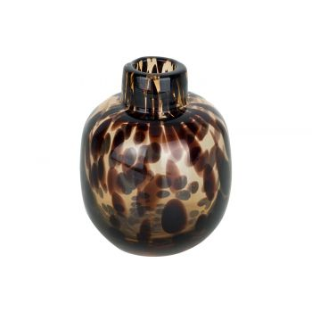 Cosy @ Home Vase Bouteille Panther Brun 10x10xh11cm