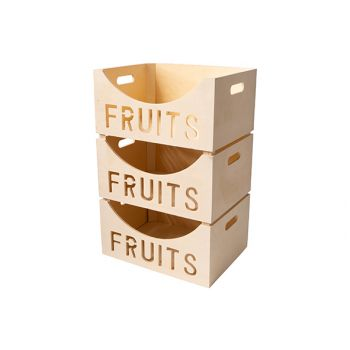 Cosy & Trendy Box De Fruits 39,5x30xh19,5cm