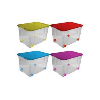 Hega Hogar Happy Box De Rangement 55l 59x40.5xh35.7