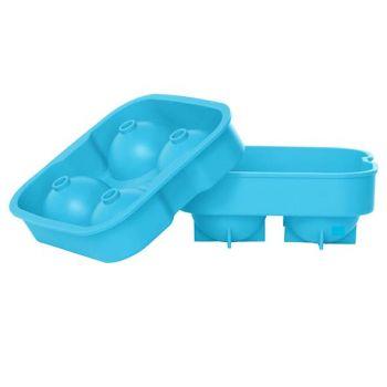 Cosy & Trendy Porte-glacons Boules Blue 4pcs D4.5cm