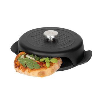Boska Pizza Baker Bbq Mini Noir 23x19x6cm Rond