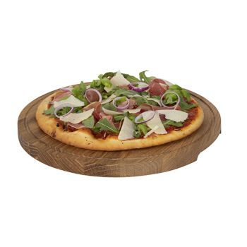 Boska Pizza Planche A Servir L D34xh2cm Chene