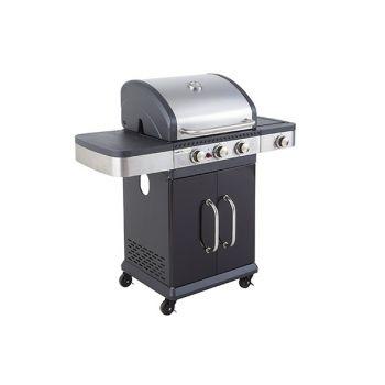 Cook'in Garden Fiesta 3 Barbecue Gas Avec Capot