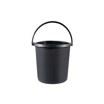 Curver Essentials Seau Anthracite 10l D29,5cm