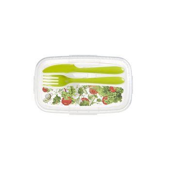 Hega Hogar Paris Deco Salade Lunch Box A.couvert