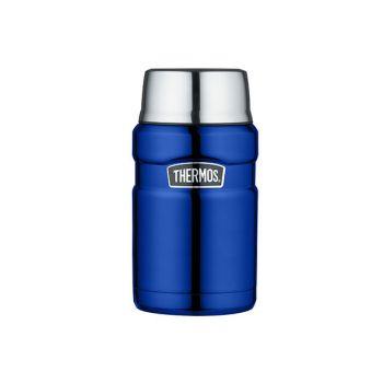 Thermos King Porte Aliments Metalic Bleu 710ml