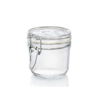 Bormioli Fido Bocal 350 Gr Joint Blanc Set 6