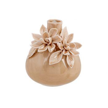 Cosy @ Home Vase Flowers Rose 9x9xh10cm Ceramique
