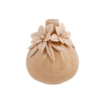 Cosy @ Home Vase Flowers Rose 11x11xh13,5cm Ceramiqu