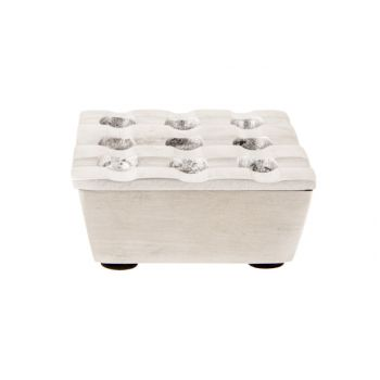 Cosy & Trendy Square Cendrier 7,5x7,5xh3,5cm Mat