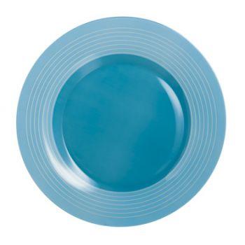 Luminarc Factory Assiette Plate Bleu D25cm