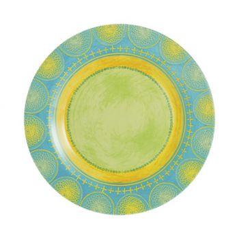Luminarc Propriano Turquoise Assiette Plate 25 Cm