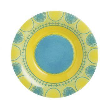 Luminarc Propriano Turquoise Assiette Creuse D21