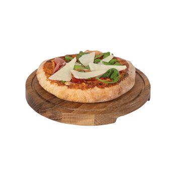 Boska Pizza Planche A Servir S D24xh2cm Chene
