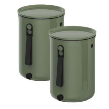 Plastika Skaza Bokashi Organico 2 Bac A Compost Vert