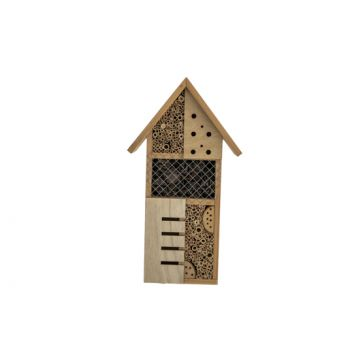 Cosy @ Home Maison Insects Naturel 24x10xh45cm Bois