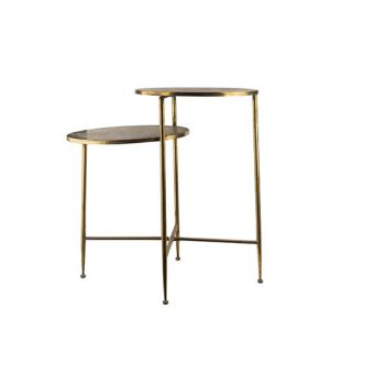 Cosy @ Home Table D'appoint Dore 79,5x50xh75cm Metal