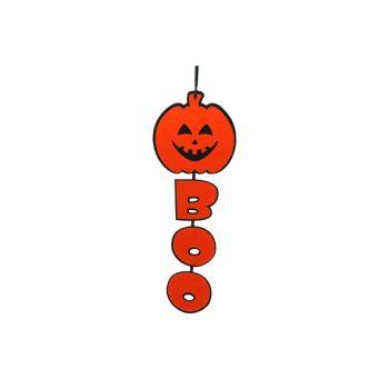 Cosy @ Home Courge+boo 60cm Orange&noir Feutre