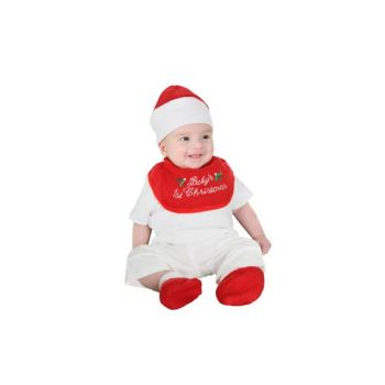 Cosy @ Home Vetements Bebe 1st Xmas 3pcs Rouge