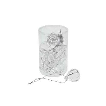 Cosy @ Home Guirlande Diamant 3cm Tube Pvc