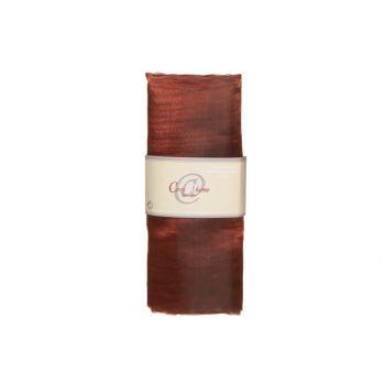 Cosy @ Home Etogge Deco Organza 1.5x3m Rouge-brun