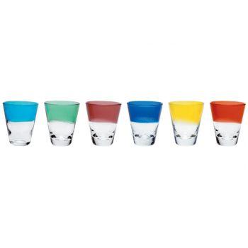 Cosy & Trendy Colori Verre A Liqueur Set6ass D5,5xh6cm