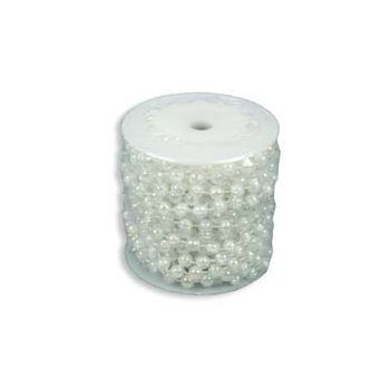 Cosy @ Home Guirlande Perles 10m 7,5mm Blanc Irrise
