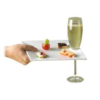 Cosy & Trendy Assiette Reception 20.5x20.5 + Encoche