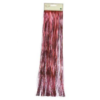 Cosy @ Home Lametta 50x500cm Rouge Vigne Brillant