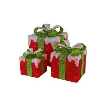 Cosy @ Home Sisal 3 Boit,cadeaux Rougenoeud Vert 75l