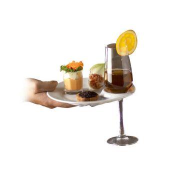 Cosy & Trendy Assiette Reception D19cm + Encoche