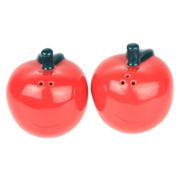 Cosy & Trendy Set Poivre-sel  Pomme Rouge 7.5x7xh7cm