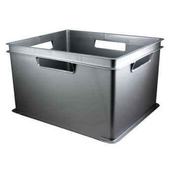 Cosy & Trendy Hobbybox Gris M -43,5(l)x35,5(b)x20,5(h)
