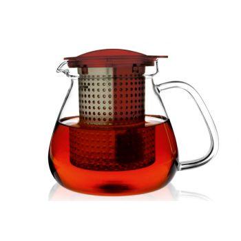 Finum Finum Cannette Thee+filtre 1,0l Rouge