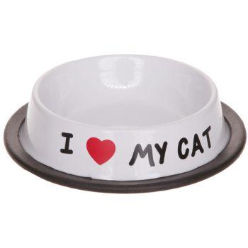 Cosy & Trendy I Love My Cat Ecuelle 15,5xh3,5cm