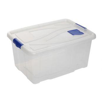 Hega Hogar Box Transparant 61x45x30 - 55l