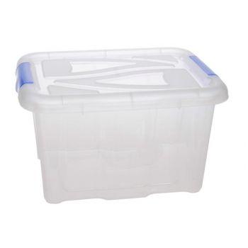 Hega Hogar Box Transparant 48x38x25,5cm-30l