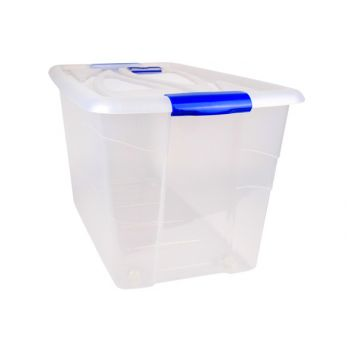 Hega Hogar Box Transparant A/rouleaux - 90l