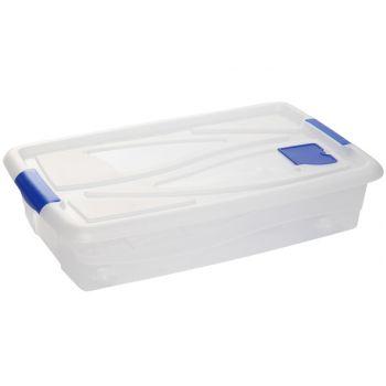 Hega Hogar Box Transparant A/rouleaux-42,5l