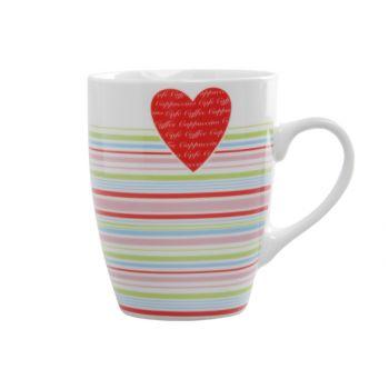 Cosy & Trendy Love Heart Gobelet D8xh10.5cm - 33cl