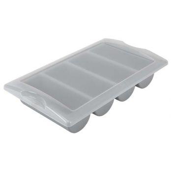 Plastibac Couverercle Bac Couv Gn 1/1-4 Compart,