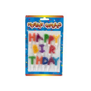 Cosy & Trendy Set Bougies Lettres Happy Birthday