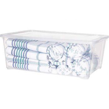 Cosy & Trendy Box Transparent 10l 38x27x14cm
