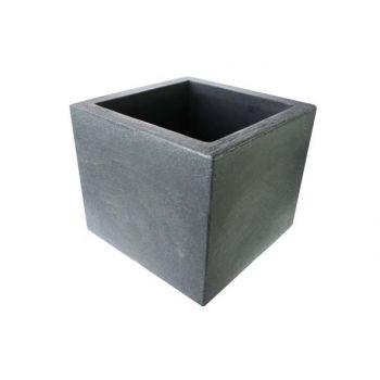 Cosy & Trendy Cp Kubus Ca 30x30xh26cm Noir/anthracite