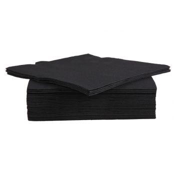 Cosy & Trendy For Professionals Ct Prof Serviette Tt S40 38x38cm Noir.
